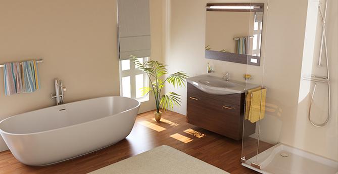 Badezimmer Design Ausstattung